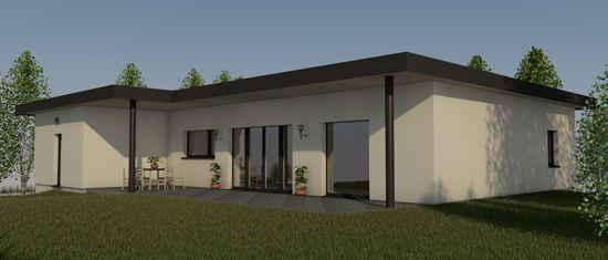 Iris2016, vue 3D du projet de maison passive
