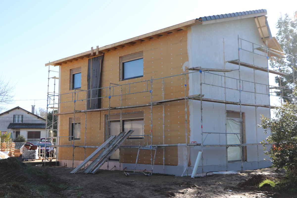 Maison passive LesTroizeces, photo nord-ouest